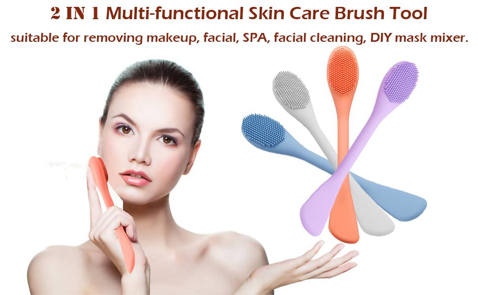 face cleansing brush body scrubber