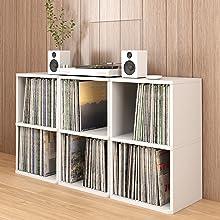 Way Basics Vinyl 2 Shelf
