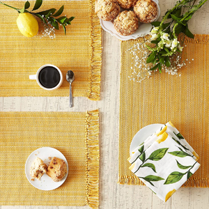 Yellow Placemats Set of 6