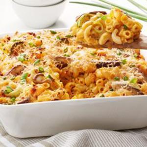 vegan macaroni and cheese baked