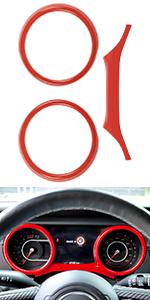 JL dashboard frame cover