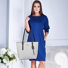 large best teacher work shoulder tote bag for ladies