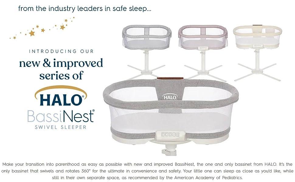 halo bassinest swivel sleeper