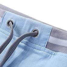 mens shorts elastic waist