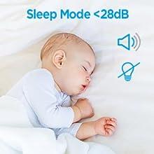 quiet operation not disturb your sleep