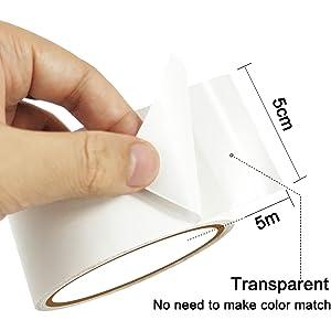 no need to make color match