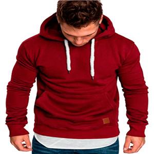 wine-red hoodies