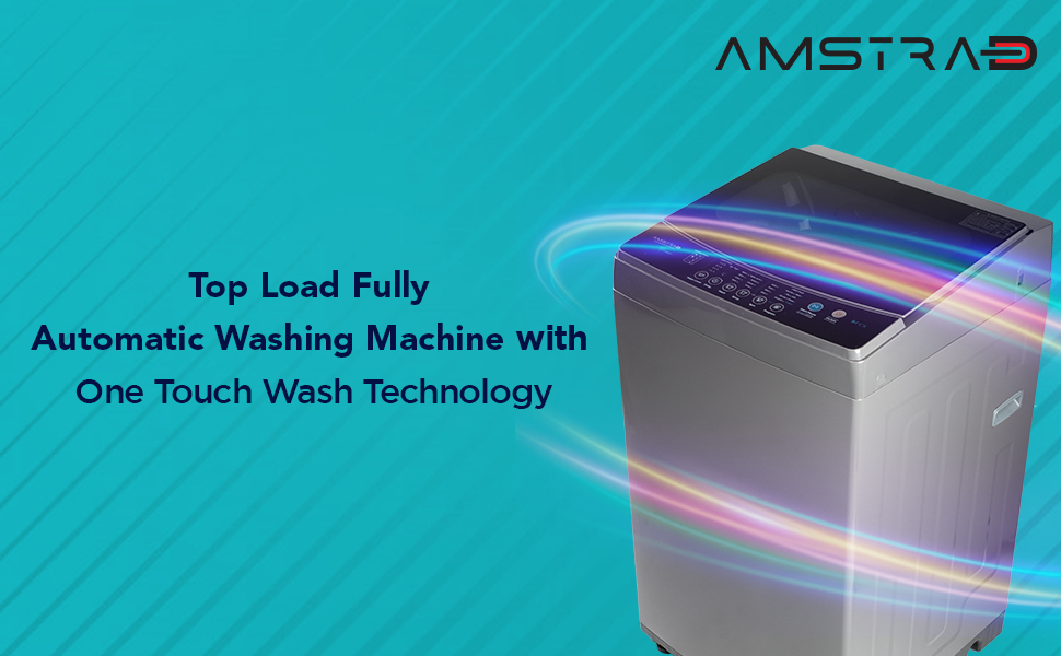 Amstrad Top Load Fully-Automatic Washing Machine One Touch Wash