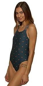 women's tie-back ryker swim suit