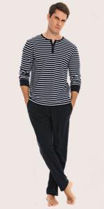 Plaid Men Pajama Set