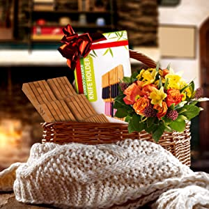 Our knife drawer organizer comes with a beautiful gift box. Perfect gift for your friends & family!