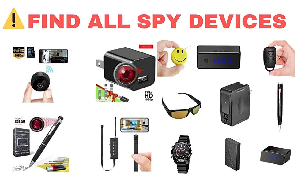microphone detector  surveillance bug detector  surveillance camera