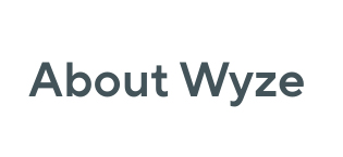 about Wyze