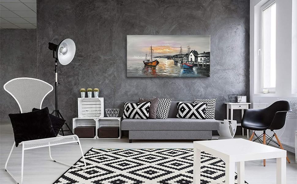 boat wall art