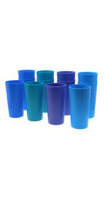 26 oz Multicolor Drinking Cups
