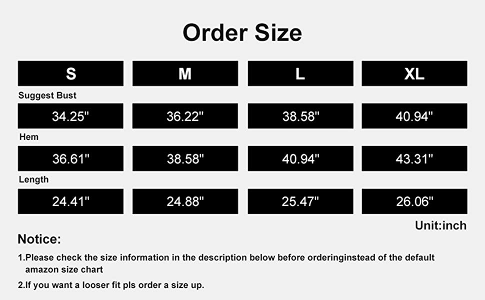 order size