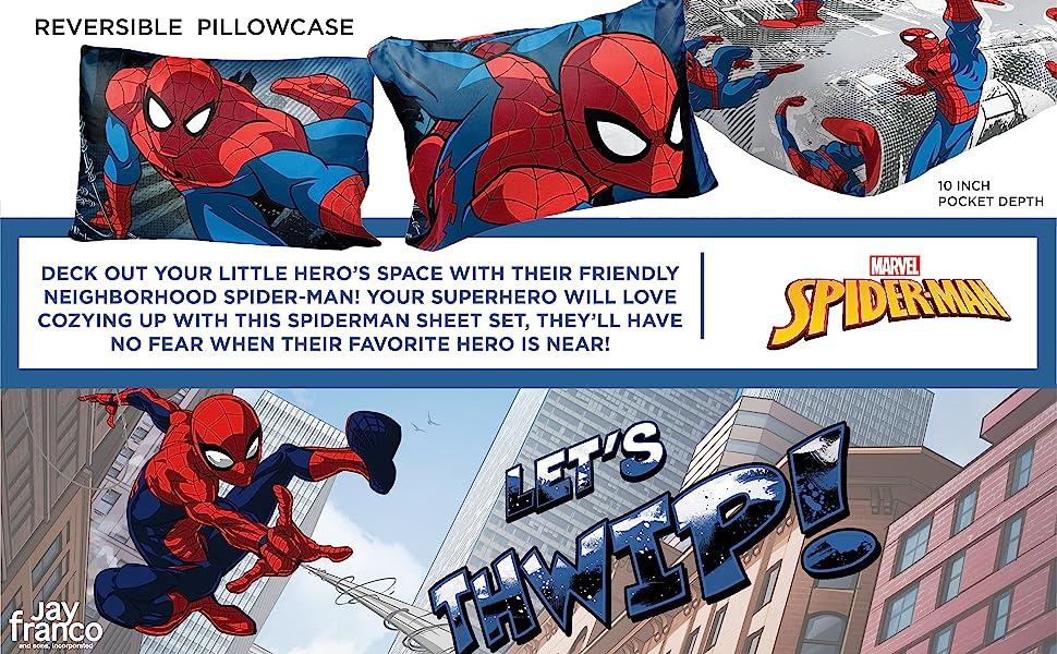 Spiderman, Bed Set, Sheet Set