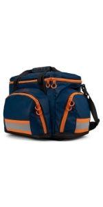 StatPacks G4 Retro Large Blue Orange ALS BLS Trauma Bag