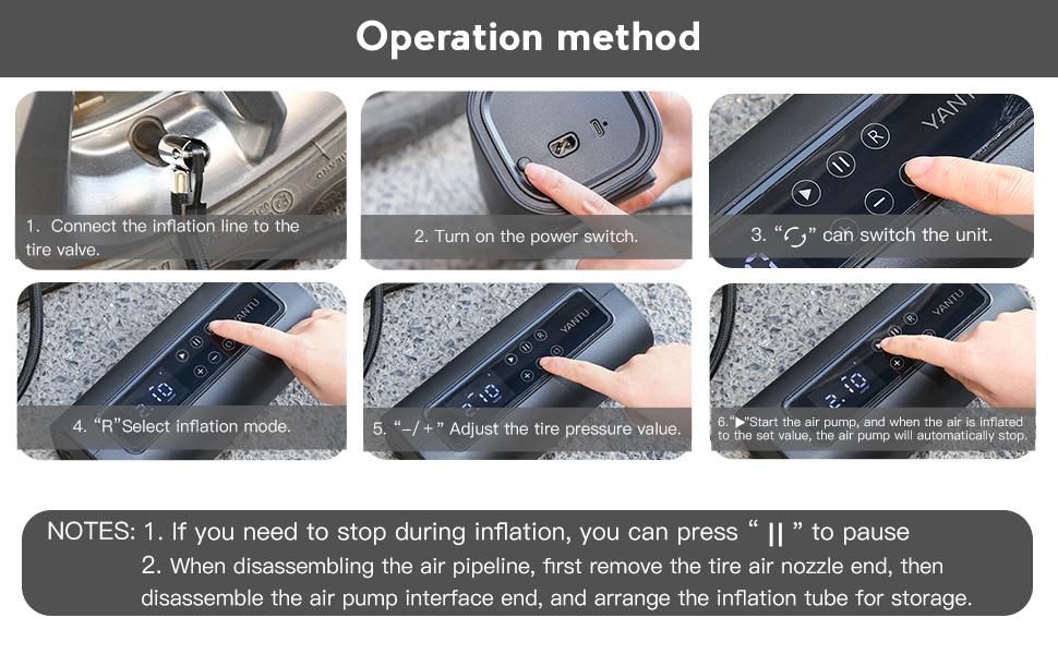 Operation method