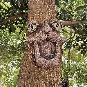 tree face decor