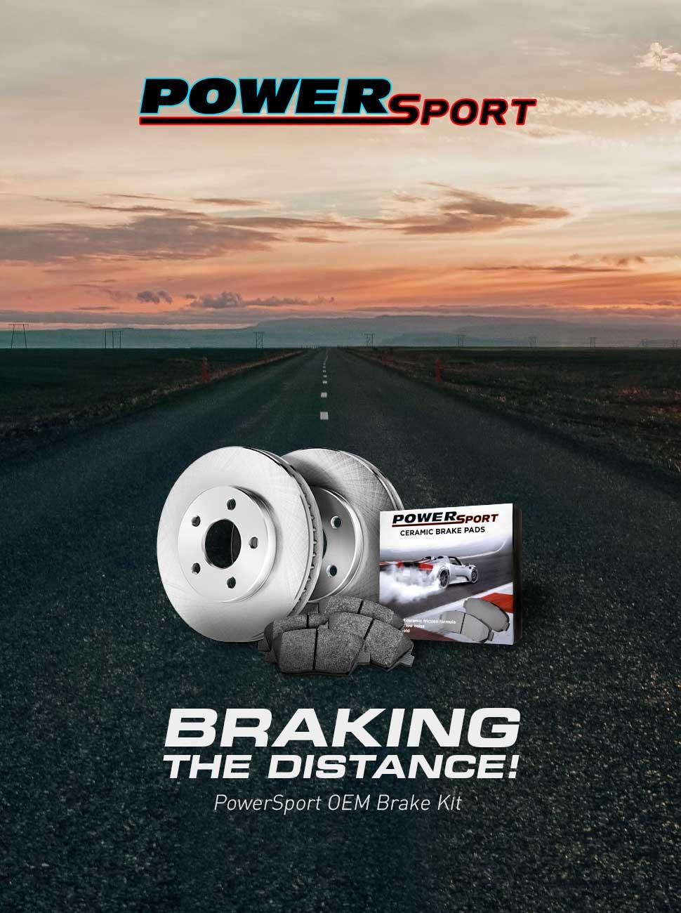 PowerSport OEM Brake Kit