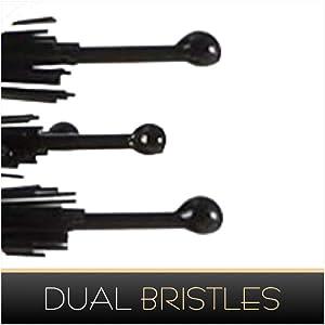 dual bristles