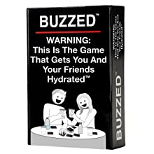 buzzed, card game, friends, party game, game night