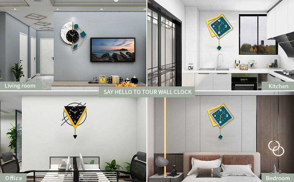 wall clock for living room decor,kitchen,office,bedroom