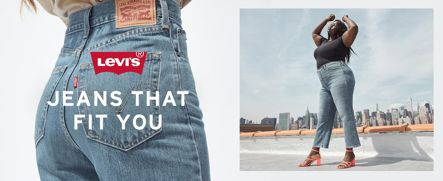 Levi's: Jeans that fit you