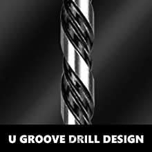 33 Pcs Hex Shank HSS Twist Drill Set