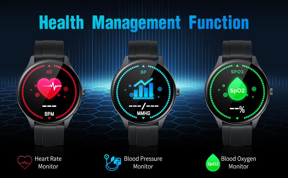 TS15 Health Managerment Functions Sports Uhr