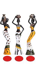 African women figurine