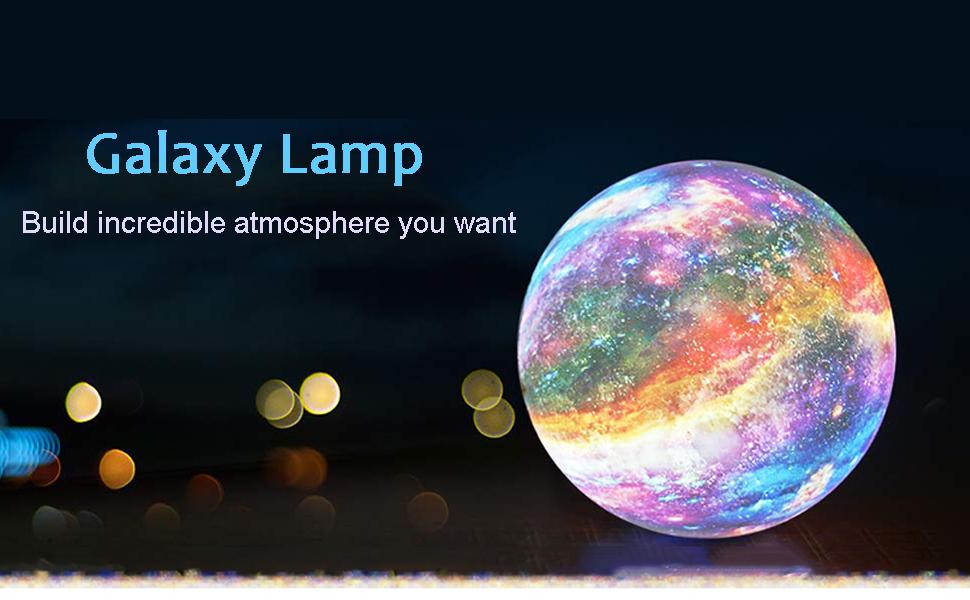 moon galaxy lamp