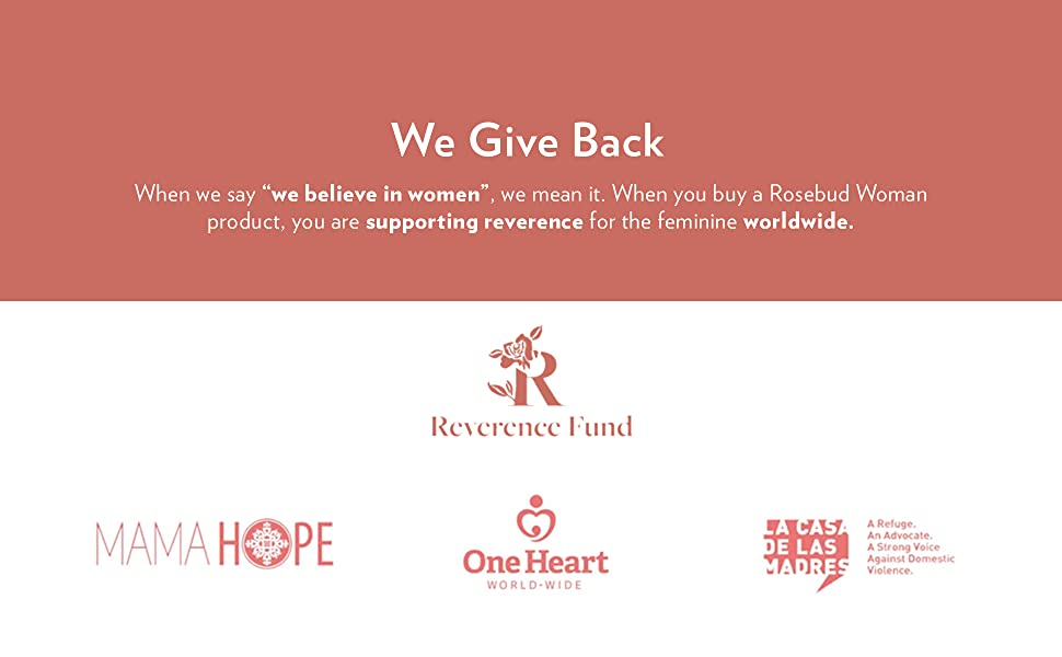 Reverence Fund  we give back support the feminine worldwide
