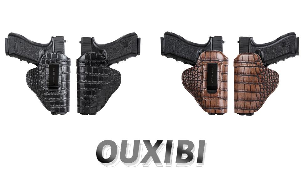 Full Grain Leather Handgun Holster