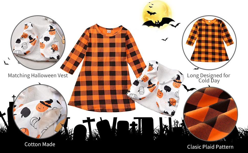 Toddler Girl Halloween Dress Outfits