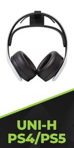 HIDEit Mounts Universal Headset Wall mount for Sony Pulse 3D Wireless Headset