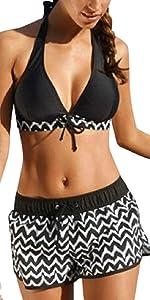 costumi da bagno donna costumi da mare brasiliana bikini perizoma bandeau reggiseno imbottito