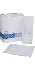 McKesson White Abdominal Pad Sterile 8 X 10 Inch 24 count