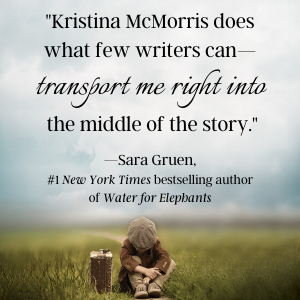 Praise from Sara Gruen, #1 NYT bestselling author of Water for Elephants