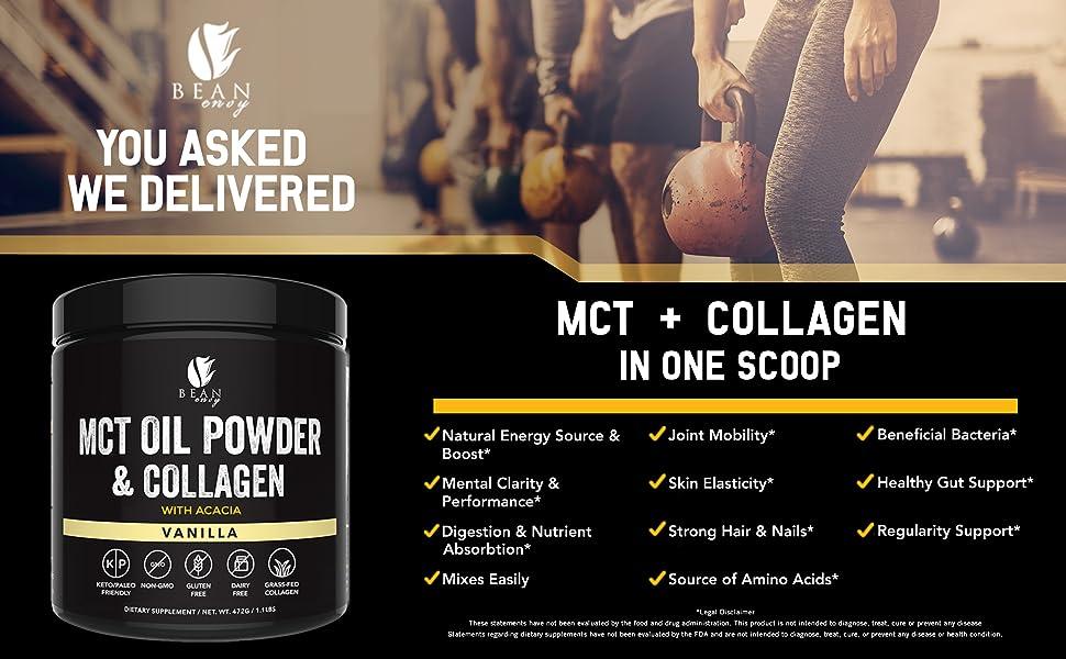 Vanilla MCT Oil Powder Benefits