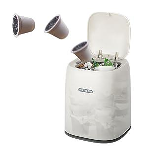 mini trash can capacity
