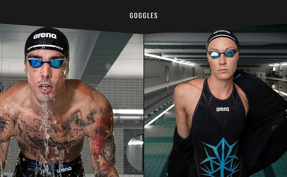 bishamon collection swim goggles