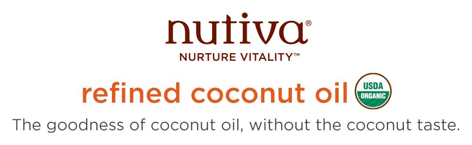 nutiva refined coco oil