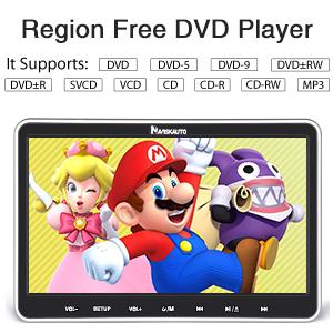 dvd player foa car