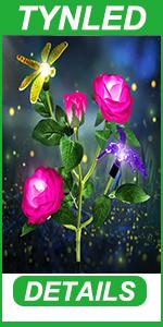 solar flowers lights