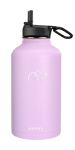 Insulated water bottle (purple)
