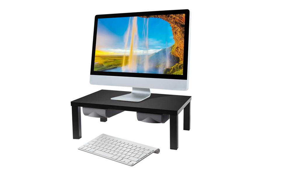 stand riser with drawer