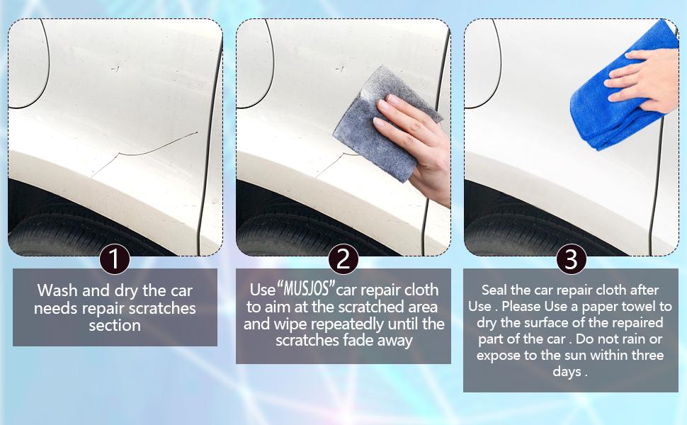 Nano Sparkle Cloth for Car Scratches