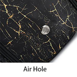 Air Hole Women Girls Travel Weekender Overnight Foldable Bag
